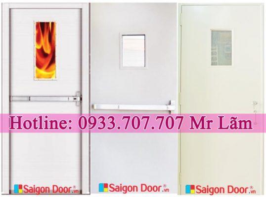 Cửa Thép Chống Cháy – Saigondoor.vn